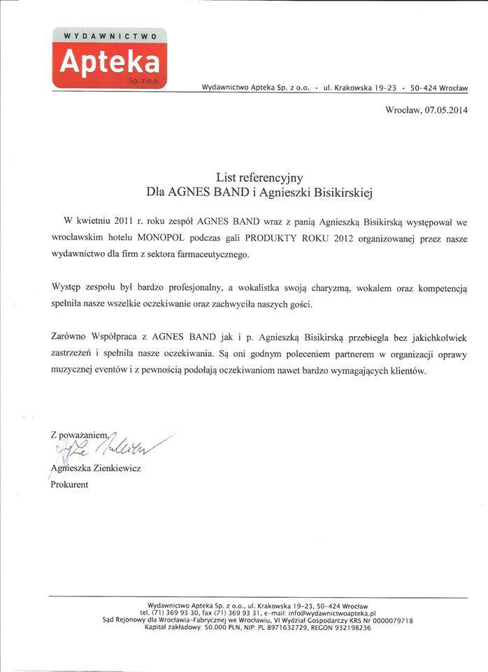 referencje Apteka