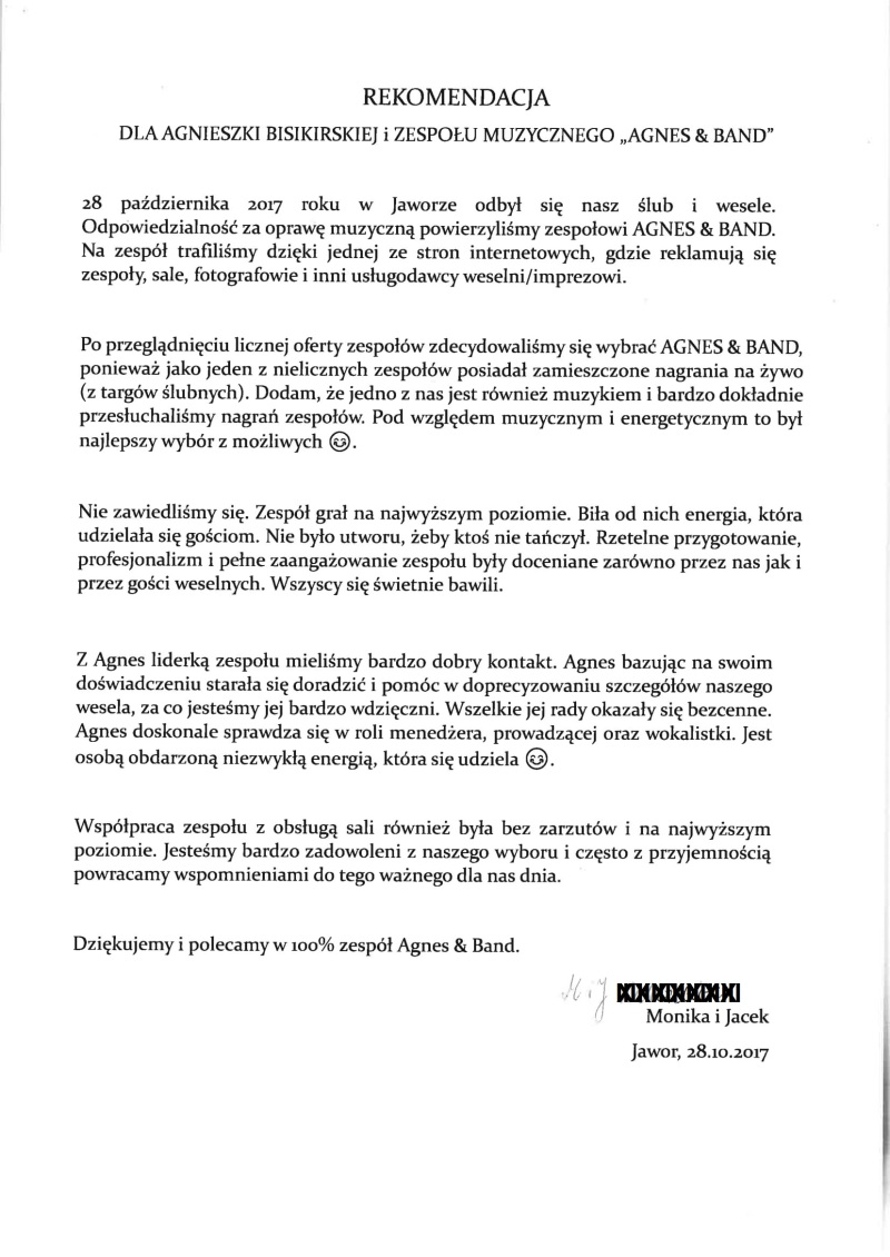 rekomendacja Monika Jacek podpis ukryty