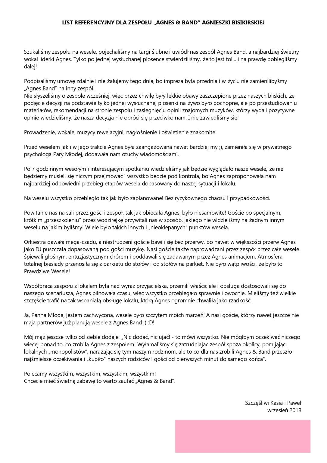 rekomedacje Kasia Pawel web
