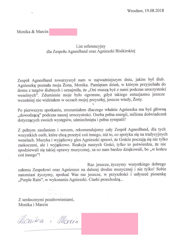 referencje Monika Marcin web