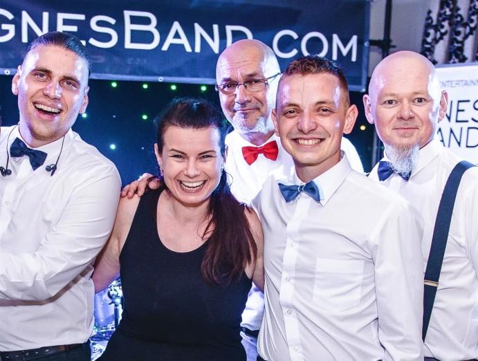 w5z6 agnes band oprawa muzyczna imprez / eventowy cover band zespol na wesele wroclaw dolny slask